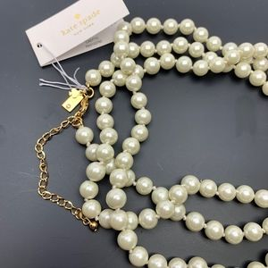 kate spade Jewelry - ♠️KATE SPADE NY ♥️PEARLS OF WISDOM NECKLACE